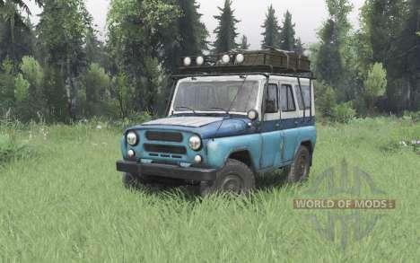 UAZ 31514 MOE pour Spin Tires