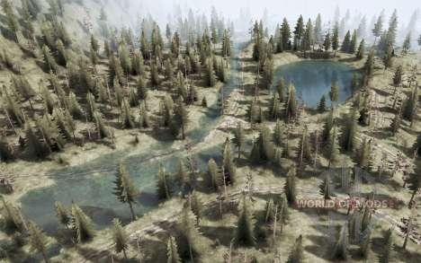Les rivières de montagne et de lacs pour Spintires MudRunner