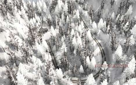 Les rigueurs de l'hiver pour Spintires MudRunner