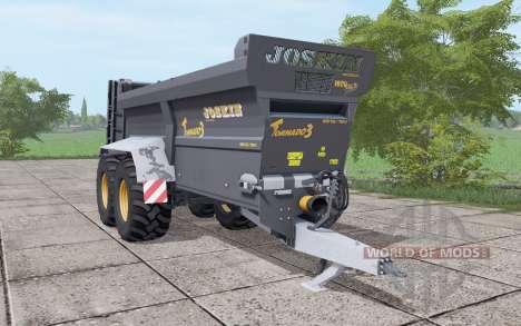 JOSKIN Tornado3 black für Farming Simulator 2017