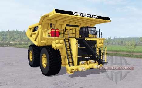 Caterpillar 797B v1.1 pour Farming Simulator 2017