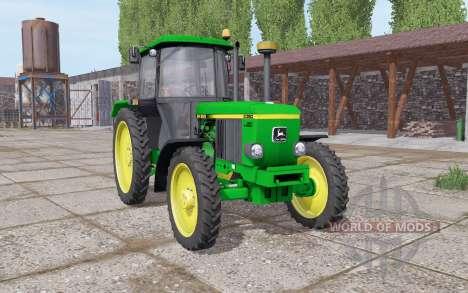 John Deere 3050 narrow wheels pour Farming Simulator 2017
