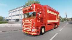 Scania R620 Fleurs