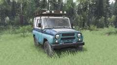 UAZ 31514 MOE für Spin Tires