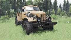 ZIL 157 4x4 Holzfäller für Spin Tires