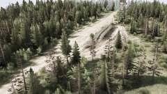 De travail dans les bois