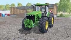 John Deere 8220 wheels weights pour Farming Simulator 2015