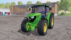John Deere 6170R twin wheels für Farming Simulator 2015