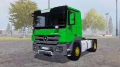 Mercedes-Benz Actros (MP3) green für Farming Simulator 2013