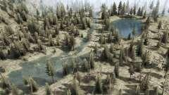 Les rivières de montagne et de lacs