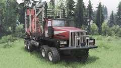 Western Star 6900TS für Spin Tires