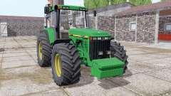 John Deere 8410 front weight pour Farming Simulator 2017