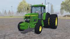 John Deere 7810 dual rear pour Farming Simulator 2013