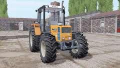 Renault 103-54 soft orange pour Farming Simulator 2017
