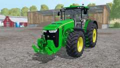 John Deere 8370R interactive control für Farming Simulator 2015