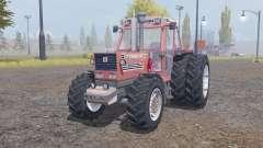 Fiatagri 180-90 Turbo DT dual rear für Farming Simulator 2013