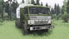 KamAZ 43114 vert v1.2 pour Spin Tires