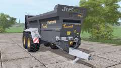 JOSKIN Tornado3 black pour Farming Simulator 2017