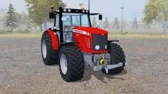Massey Ferguson 6475 red pour Farming Simulator 2013
