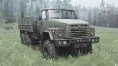 KrAZ 260 dunkel-Grau-grün für MudRunner