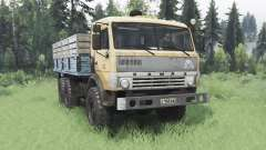 KamAZ 43114 soft-orange für Spin Tires