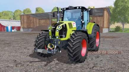 CLAAS Arion 650 twin Räder für Farming Simulator 2015
