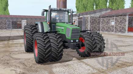 Fendt Favorit 818 green special pour Farming Simulator 2017