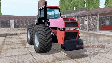 Case 4994 soft red pour Farming Simulator 2017