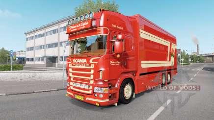 Scania R620 Fleurs pour Euro Truck Simulator 2