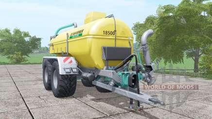 Zunhammer SKE 18.5 PUD pour Farming Simulator 2017