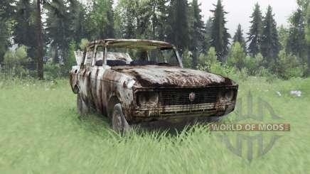Moskvich 2140. T. Et. L. De. E. R. pour Spin Tires