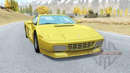 Ferrari 512 TR 1991 pour BeamNG Drive