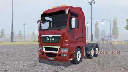 MAN TGX 6x6 pour Farming Simulator 2013
