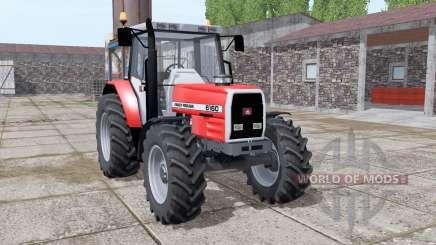 Massey Ferguson 6160 v2.0 pour Farming Simulator 2017