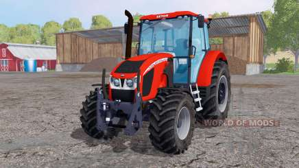 Zetor 140 Forterra HSX pour Farming Simulator 2015
