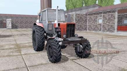 MTZ 82 Biélorussie Turbo pour Farming Simulator 2017