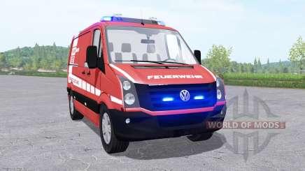 Volkswagen Crafter Van 2011 Feuerwehr v0.9 für Farming Simulator 2017