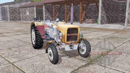 URSUS C-330 soft orange für Farming Simulator 2017