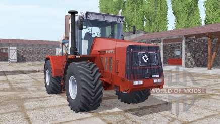 Kirovets K-744R3 mäßig rot für Farming Simulator 2017