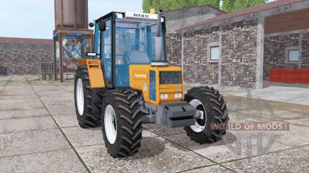 Renault 90-34 bright orange pour Farming Simulator 2017
