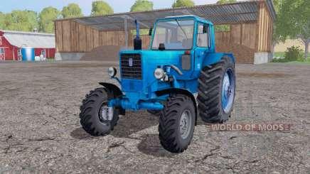 Belarus MTZ 82 bleu pour Farming Simulator 2015
