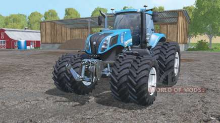 New Holland T8.435 twin wheels für Farming Simulator 2015