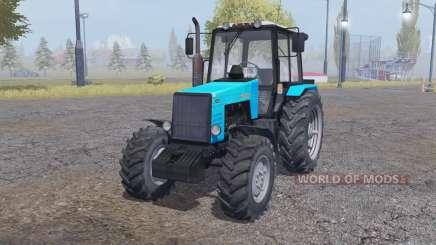 MTZ-1221 Biélorussie bleu vif pour Farming Simulator 2013