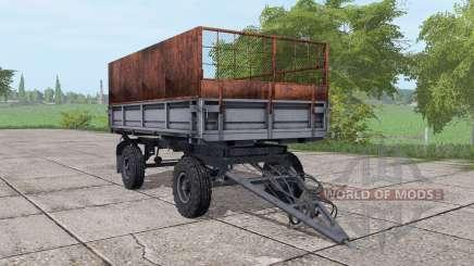 2PTS-4 silo pour Farming Simulator 2017