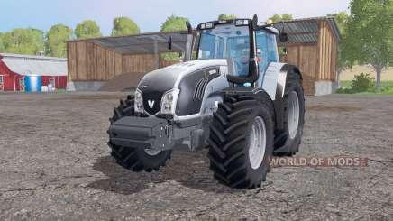 Valtra T163 grayish blue pour Farming Simulator 2015