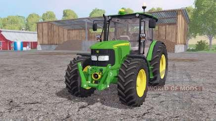 John Deere 5080M loader mounting pour Farming Simulator 2015