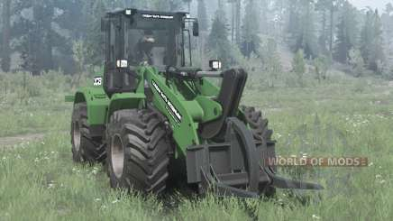 New Holland W170C green pour MudRunner