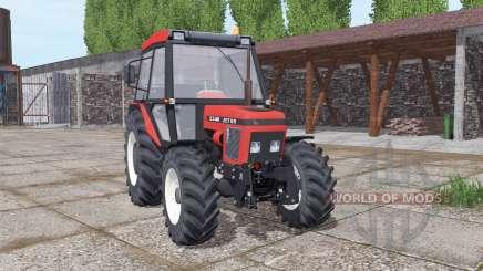 Zetor 5340 soft red pour Farming Simulator 2017
