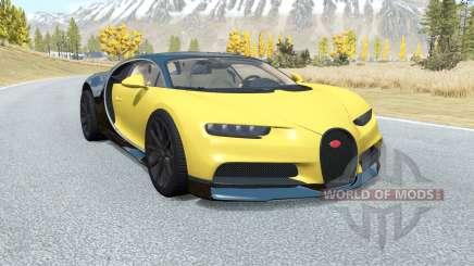 Bugatti Chiron 2016 pour BeamNG Drive