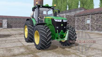 John Deere 7270R green pour Farming Simulator 2017